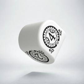 D4 Steampunk Clockwork Modern White & Black