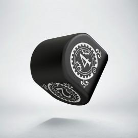 D4 Steampunk Clockwork Modern Black & White