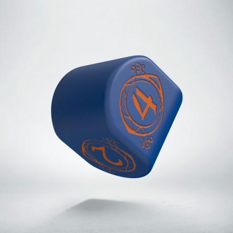 D4 Wizard Modern Dark-blue & Orange