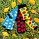 The Rolling Socks - Candies - size 36-41 EU (5-8 US)