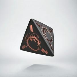 D4 Dragons Black & Copper