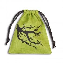Ent Green & black Dice Bag