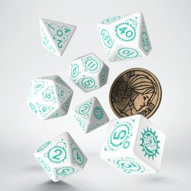 The Witcher Dice Set. Ciri - The Law of Surprise