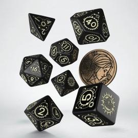 Wiedźmin, zestaw kości RPG. Ciri - Jaskółka.