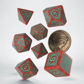 The Witcher Dice Set. Merigold the Fearless.