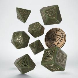 Wiedźmin, zestaw kości RPG. Triss - Czternasta ze Wzgórza.