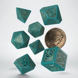 Wiedźmin, zestaw kości RPG. Triss - Piękna Uzdrowicielka.