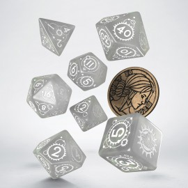 The Witcher Dice Set. Ciri - The lady of Space and Time.