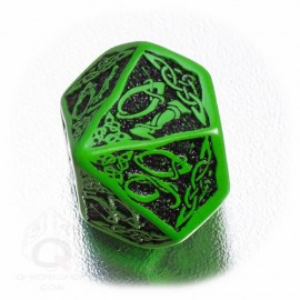 K100 Celtycka 3D Zielono-czarna (1)