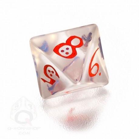 K8 Klasyczna Przejrzysto-niebiesko-czerwona (1)
