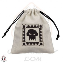Orc Beige & black Dice Bag