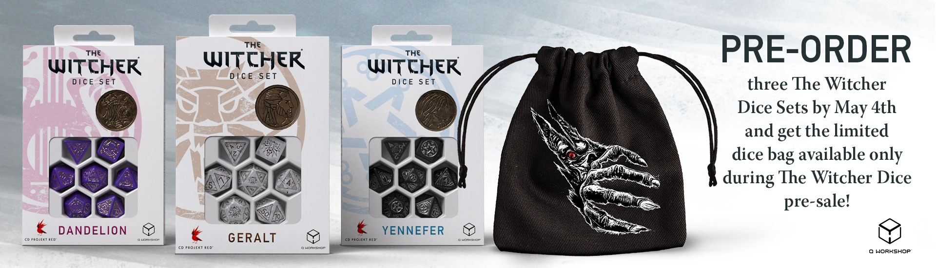 THE WITCHER PRE-ORDER