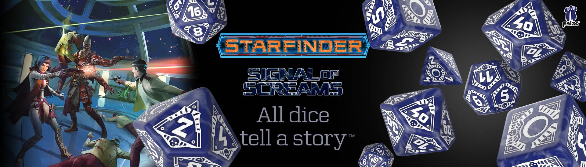 Starfinder Signal of Screams Dice Set (7)