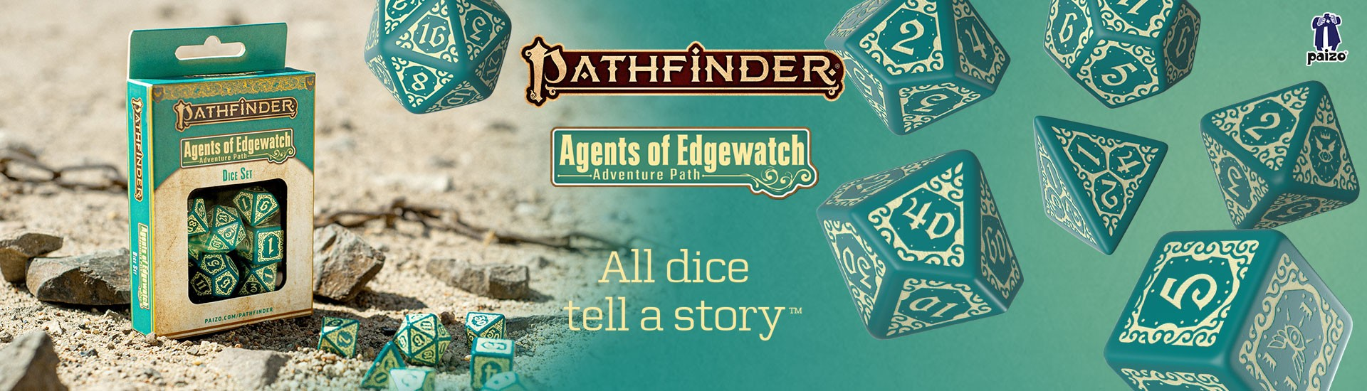 Pathfinder Agents of Edgewatch Dice Set