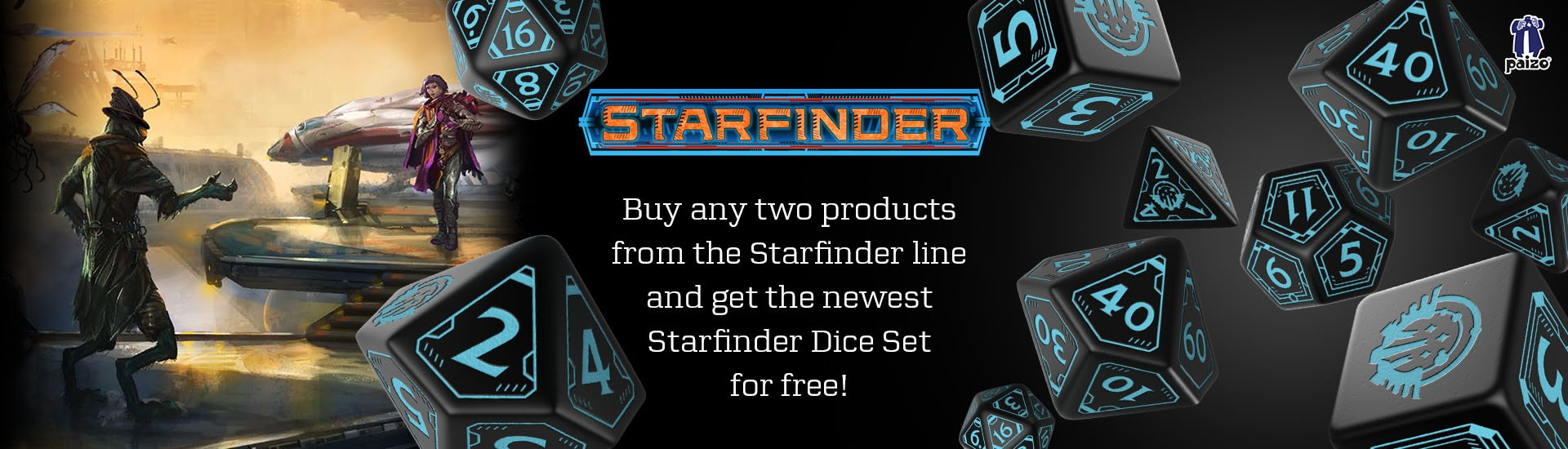 Starfinder Dice Set (7)